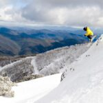 Dropping off the edge at Mt Buller