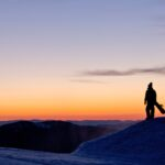 A quiet pre-dawn moment at the top of Mt Buller.