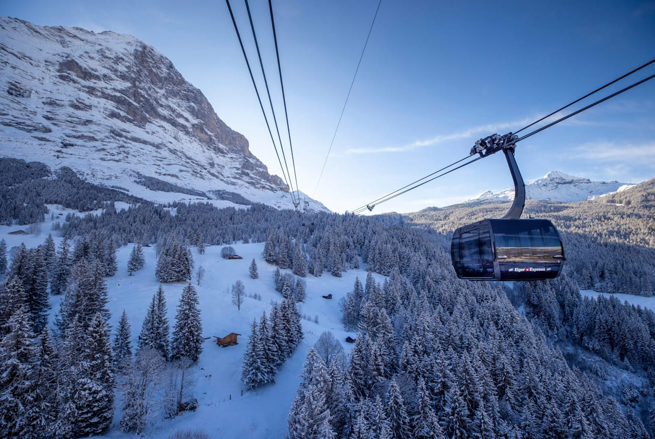 JUNGFRAU RAILWAYS ARE HEADING OFF INTO THE FUTURE WITH THE V-CABLEWAY