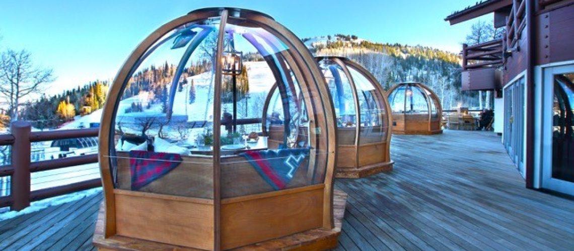 Stein Eriksen Lodge Alpenglobes