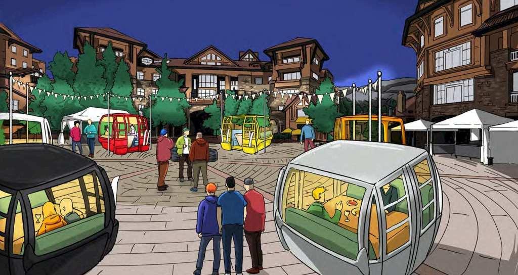 Telluride's new gondola dining cabins